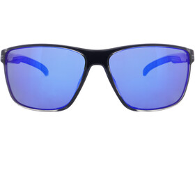 Red Bull SPECT Drift Lunettes de soleil Homme, x'tal grey/smoke with blue mirror polarized